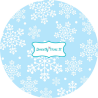 Papilotki świąteczne (ostrokrzew) 60szt