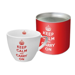 Kubek Keep calm and carry on