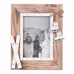 Ramka na zdjęcie narciarska