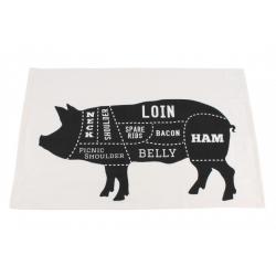 Ręcznik ze świnką