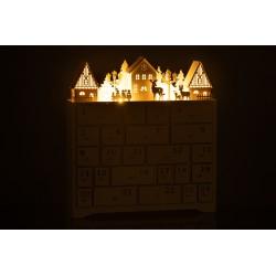 Kalendarz adwentowy - domek
