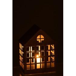 Świecznik - domek 28cm