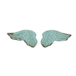 Gałki - turkusowe skrzydła