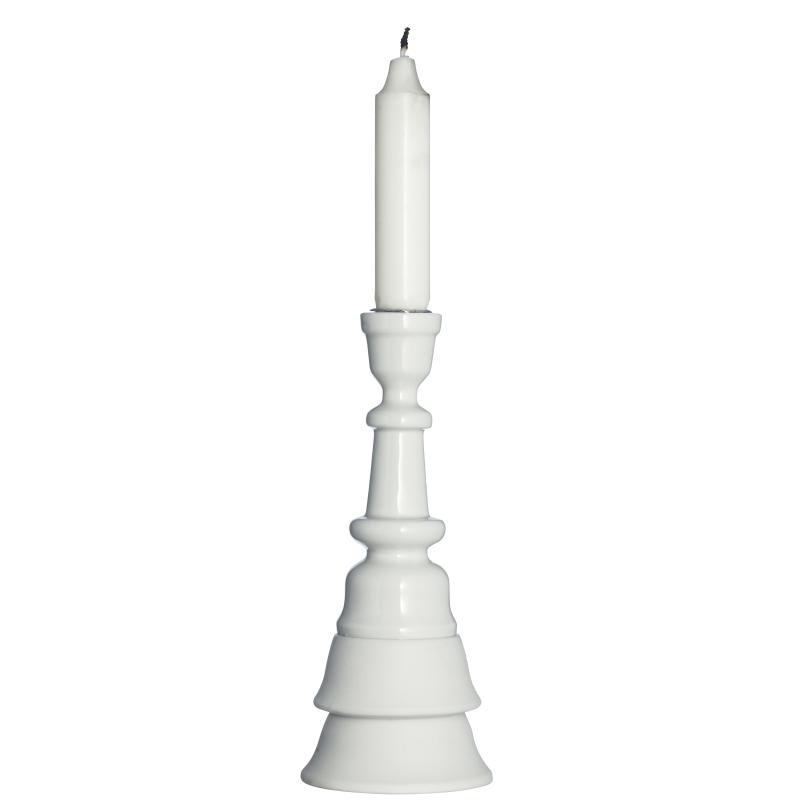 Porcelanowy świecznik Madam Stoltz