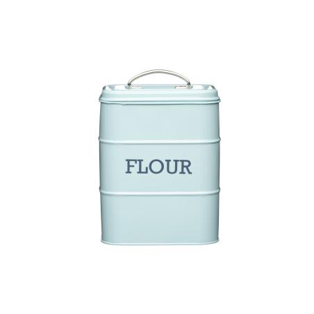 Pojemnik na mąkę: niebieski