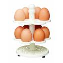 Żeliwny stojak na jajka
