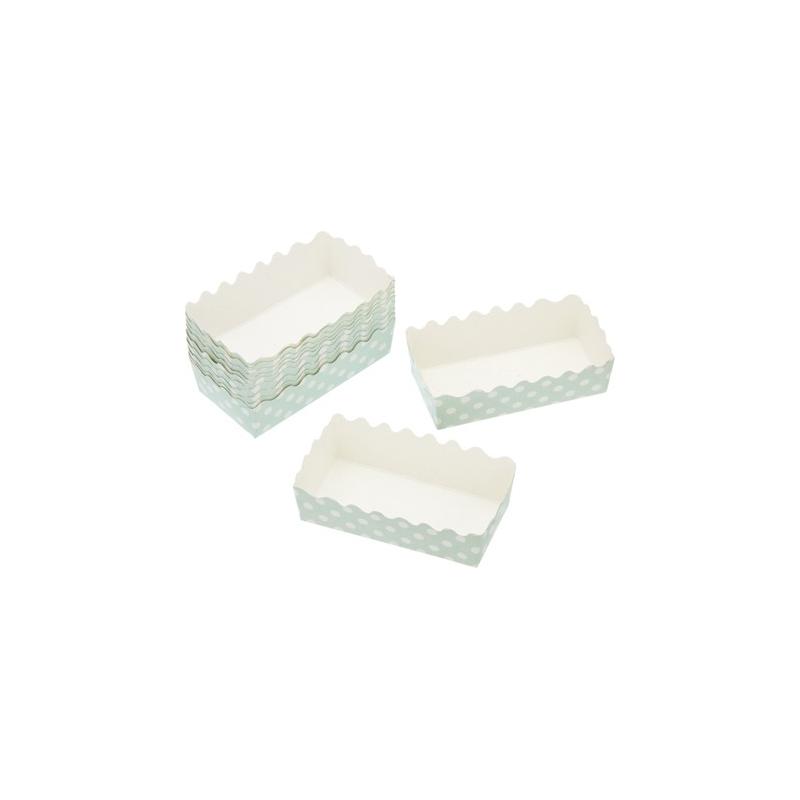 Mini keksówki miętowe