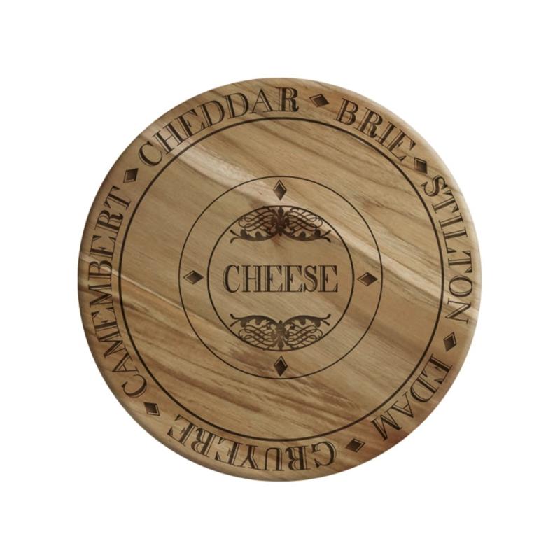 Dębowa deska do serwowania sera