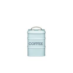 Pojemnik na kawę niebieski