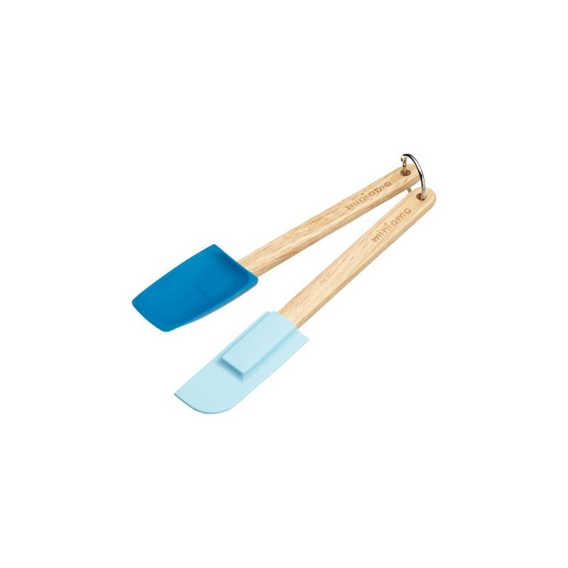 Silikonowe narzędzia niebieskie