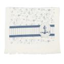 Ręcznik kuchenny z kotwicą