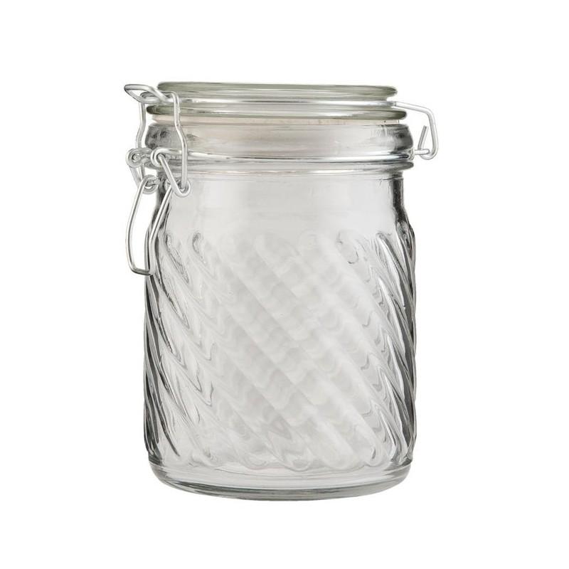 Pojemnik szklany średni