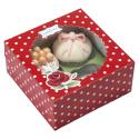Pudełko na muffinki - czerwone (2szt)