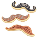 Foremki wąsy (zestaw)