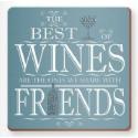 Podkładka korkowa - wino