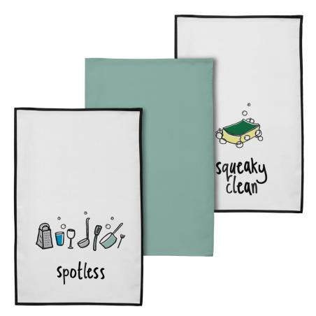 Zestaw ręczników Doodle (3 szt)
